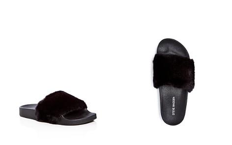 STEVE MADDEN Girls' Softey Slide Sandals - Little Kid, Big Kid - Bloomingdale's_2
