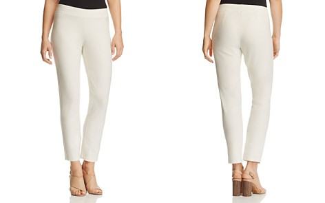 Eileen Fisher Petites System Slim Knit Ankle Pants - Bloomingdale's_2
