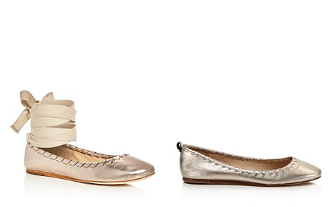 Via Spiga Baylie Ankle Tie Ballet Flats - Bloomingdale's_2