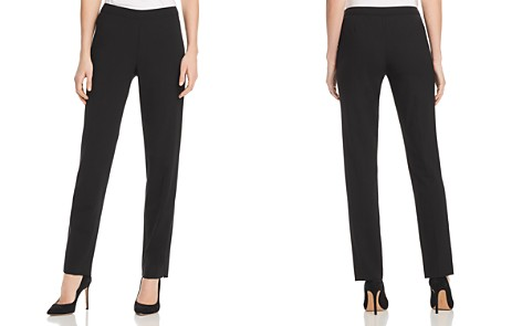 Lafayette 148 New York Bleecker Straight-Leg Pants - Bloomingdale's_2