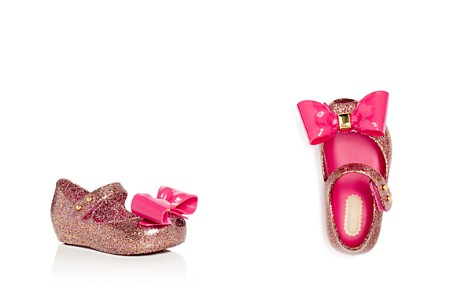 Mini Melissa Girls' Ultragirl Glitter Mary Jane Flats - Walker, Toddler - Bloomingdale's_2