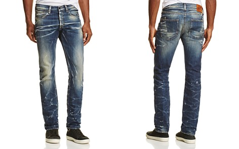PRPS Goods & Co. Seismic Straight Fit Jeans in Indigo - Bloomingdale's_2