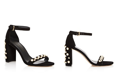 Stuart Weitzman Morepearls Ankle Strap High-Heel Sandals - Bloomingdale's_2