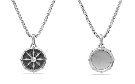 David Yurman Dharma Wheel Amulet with Diamonds - Bloomingdale's_2
