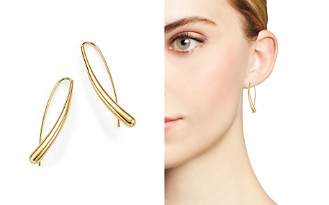 Bloomingdale's 14K Yellow Gold Long Tear Drop Earrings - 100% Exclusive_2