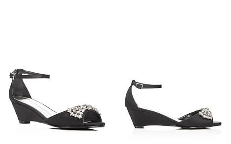 Caparros Hugh Embellished Satin Demi Wedge Sandals - Bloomingdale's_2
