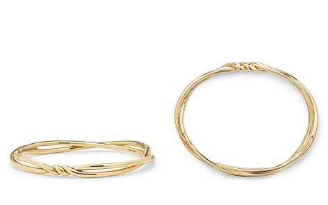David Yurman Continuance Center Twist Bracelets in 18K Gold - Bloomingdale's_2