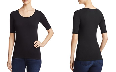 Majestic Filatures Elbow-Sleeve Tee - Bloomingdale's_2