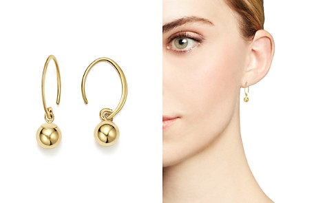 14K Yellow Gold Ball Drop Earrings - 100% Exclusive - Bloomingdale's_2