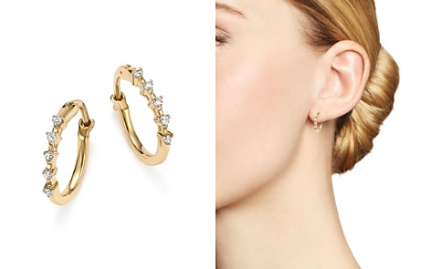 Adina Reyter 14K Yellow Gold 5-Diamond Huggie Hoop Earrings - Bloomingdale's_2