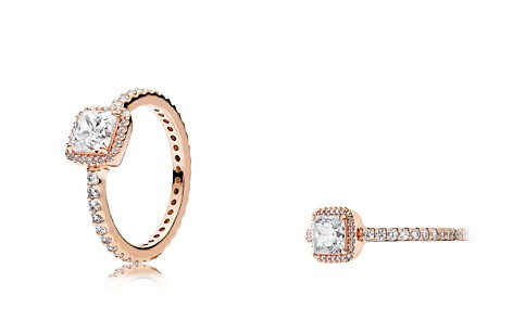 PANDORA 14K Gold, Sterling Silver & Cubic Zirconia Timeless Elegance Ring - Bloomingdale's_2