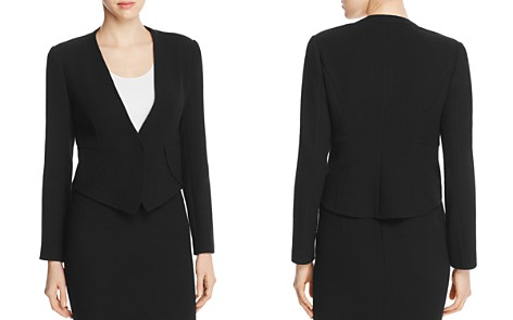 Armani Collezioni Pointed-Hem Wool Jacket - Bloomingdale's_2