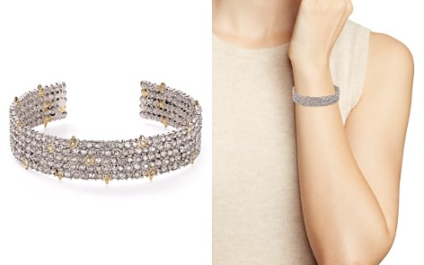 Alexis Bittar Crystal Pavé Accent Cuff - Bloomingdale's_2