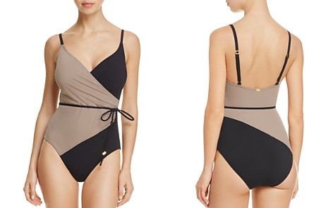 Amoressa Solitaire Misty One Piece Swimsuit - Bloomingdale's_2