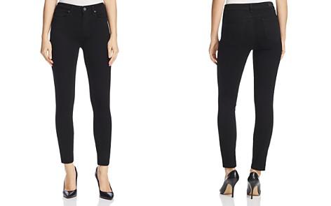 PAIGE Hoxton Ankle Skinny Jeans in Black Shadow - Bloomingdale's_2
