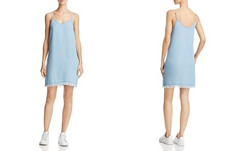 Splendid Fringe-Hem Chambray Slip Dress - Bloomingdale's_2