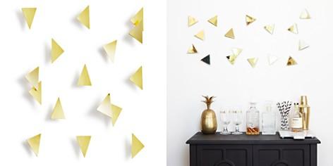 Umbra Peel n' Stick Confetti Triangles, Set of 16 - Bloomingdale's_2