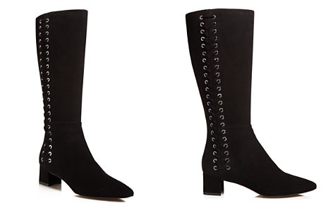 Aquatalia Perri Weatherproof Laced Tall Boots - 100% Exclusive - Bloomingdale's_2