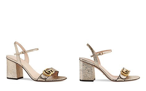 GucciMetallic Open Toe Sandals - Bloomingdale's_2