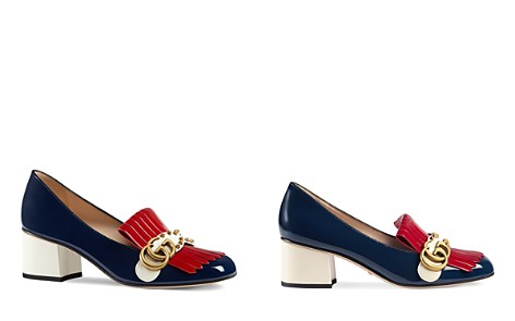 Gucci Marmont Embellished Mid Heel Loafers - Bloomingdale's_2
