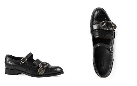 Gucci Queercore Brogue Monk Shoes - Bloomingdale's_2