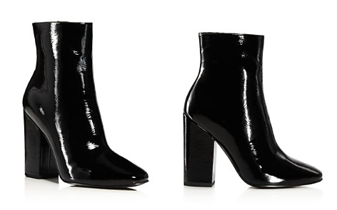 KENDALL and KYLIE Haedyn Patent Leather Booties - Bloomingdale's_2