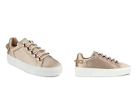 KENDALL and KYLIE Rae Satin Lace Up Platform Sneakers - Bloomingdale's_2