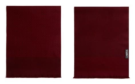 Salvatore Ferragamo Reversible Gancini Wool Scarf - Bloomingdale's_2