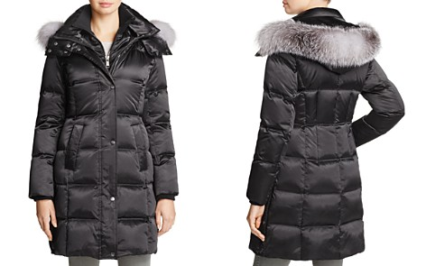 Andrew Marc Leven Fur Trim Down Coat - Bloomingdale's_2