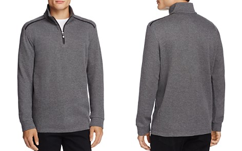 BOSS Green Piceno Half-Zip Sweatshirt - Bloomingdale's_2
