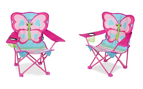 Melissa & Doug Butterfly Camp Folding Chair - Ages 3+ - Bloomingdale's_2