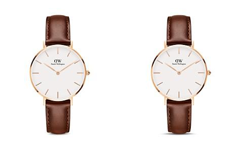 Daniel Wellington Classic Petite Leather Watch, 32mm - Bloomingdale's_2