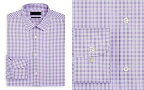 The Men's Store at Bloomingdale's Gingham Regular Fit Dress Shirt - 100% Exclusive_2