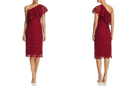 nanette Nanette Lepore One-Shoulder Lace Sheath Dress - Bloomingdale's_2
