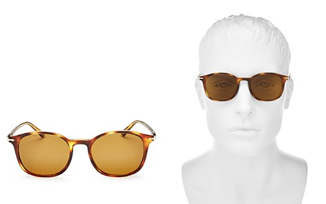 Persol Men's Officina Collection Polarized Square Sunglasses, 50mm - Bloomingdale's_2