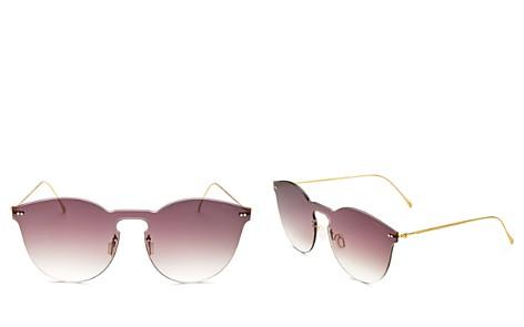 Illesteva Women's Leonard Mask II Oversized Shield Sunglasses, 50mm - Bloomingdale's_2