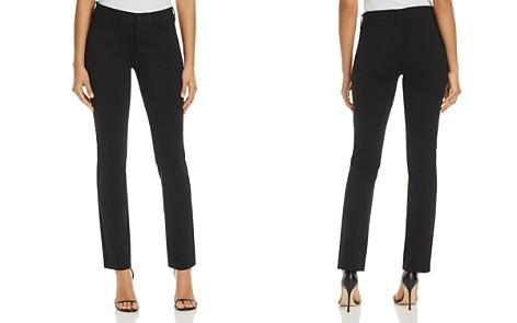 NYDJ Sheri Slim Ponte Pants in Black - 100% Exclusive - Bloomingdale's_2