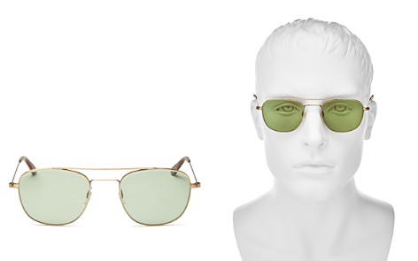 GARRETT LEIGHT Clubhouse Modified Aviator Sunglasses, 49mm - 100% Exclusive - Bloomingdale's_2