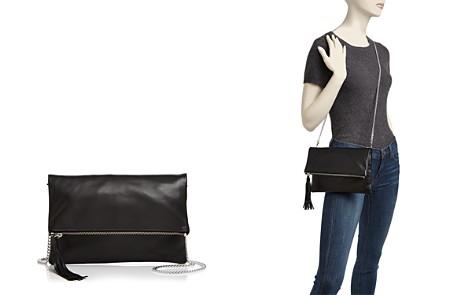 AQUA Foldover Leather Crossbody - 100% Exclusive - Bloomingdale's_2