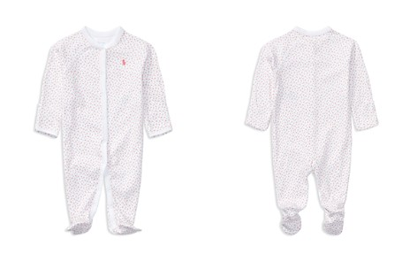 Ralph Lauren Girls' Layette Printed Footie - Baby - Bloomingdale's_2