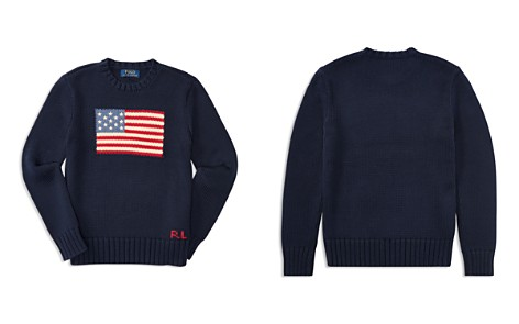 Polo Ralph Lauren Boys' American Flag Sweater - Big Kid - Bloomingdale's_2