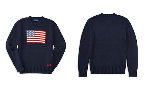 Polo Ralph Lauren Boys' American Flag Sweater - Big Kid - Bloomingdale's_2