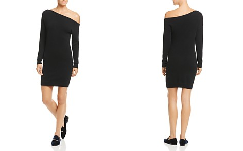 Minnie Rose One-Shoulder Cashmere Sweater Dress - Bloomingdale's_2