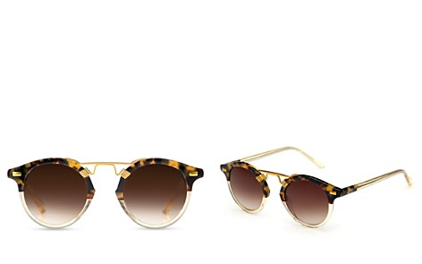Krewe Women's St. Louis 24K Gradient Round Sunglasses, 46mm - Bloomingdale's_2