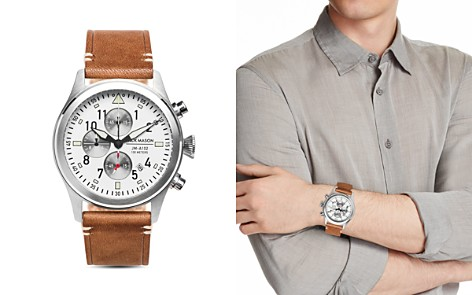 Jack Mason Aviator Chronograph Watch, 42mm - Bloomingdale's_2
