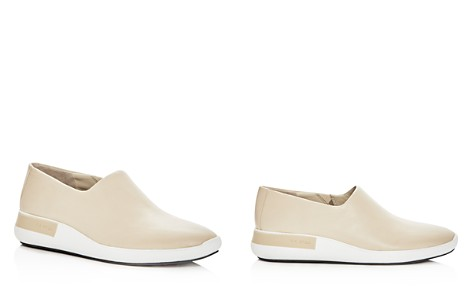 Via Spiga Women's Malena Leather Round Toe Slip-On Sneakers - Bloomingdale's_2