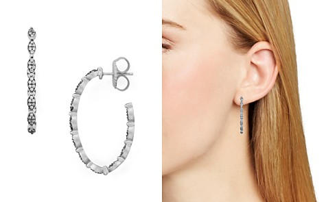Freida Rothman Pavé Hoop Earrings - Bloomingdale's_2