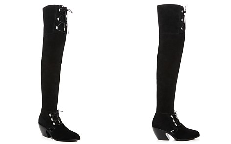 Opening Ceremony Women's Arielle Suede Over-the-Knee Boots - Bloomingdale's_2