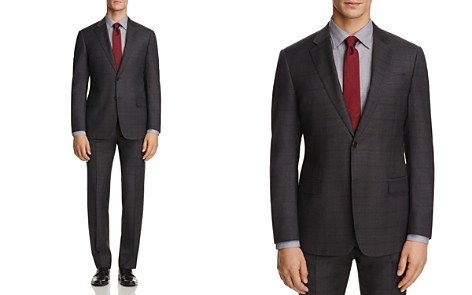 Armani Collezioni Multi Plaid Classic Fit Suit - Bloomingdale's_2