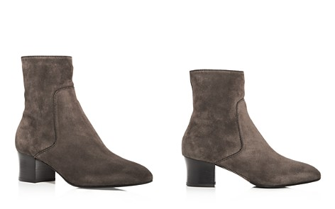 Aquatalia Women's Fortuna Weatherproof Suede Block Heel Booties - 100% Exclusive - Bloomingdale's_2